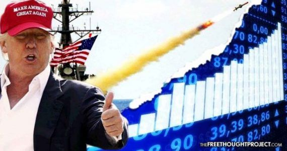 Trump Owned Stock in The Company He Just Helped Make a Billion Overnight by Bombing Syria #news #alternativenews