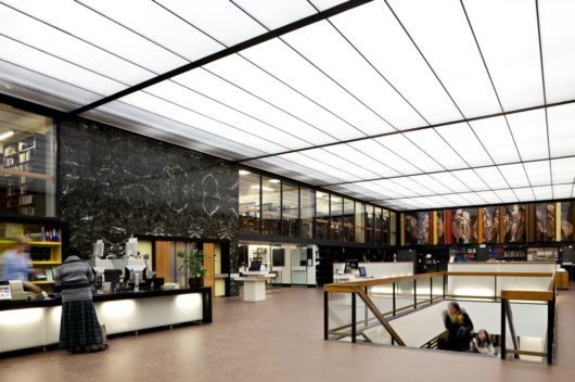 University Of Sheffield Western Bank Library Design