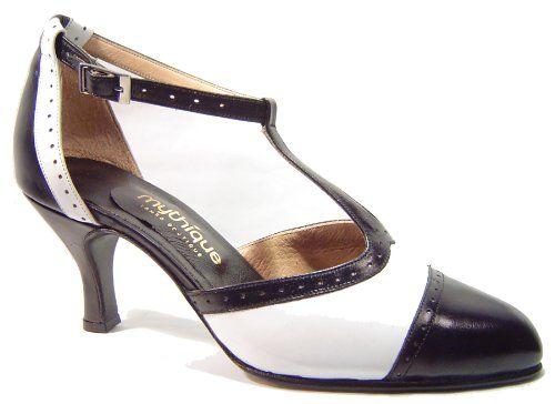 Cool Mythique Women's Tango Ballroom Salsa Latin Dance Shoes Eva
