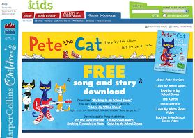 WE {LOVE}  PETE THE CAT!!!!! We have had so much fun with Pete the Cat this week. We read: and We watched this: and this  We al...