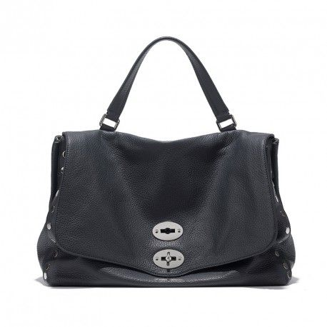 Postina® L Daily col. Blu Reale borsa donna in morbida pelle #ilovepostina #zanellato #ITBAG