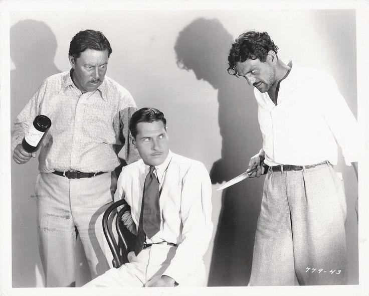 Warner Oland, Richard Arlen, and Francis McDonald, Dangerous Paradise (1930)