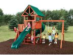 Swing-n-Slide Southampton Swing Set, Wood Complete, Ready-to-Build Swing Sets Kits