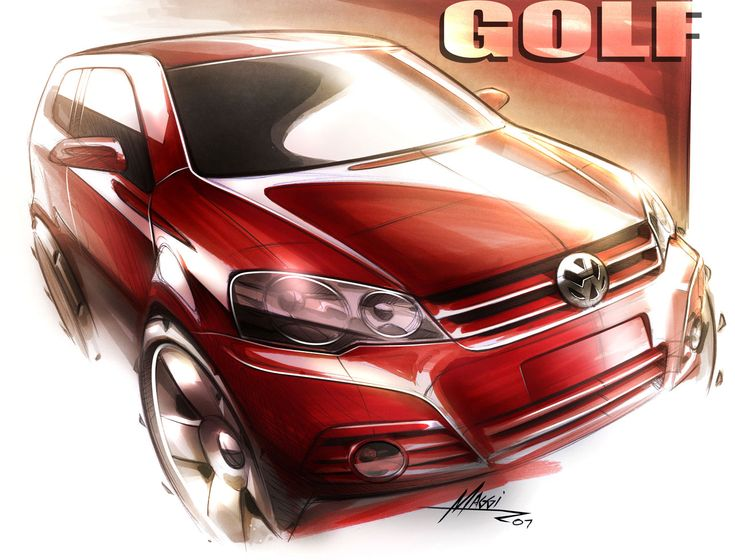 VW-Golf-Design-Sketch-by-Rodrigo-Maggi-lg.jpg (1280×975)