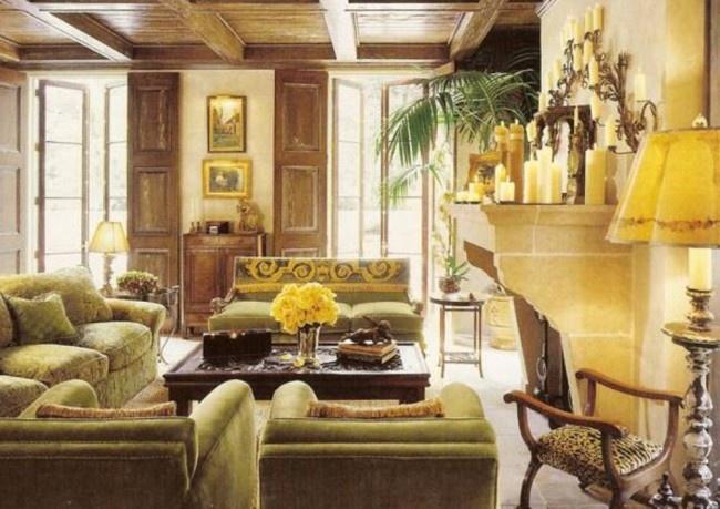 tuscan living room design. Black Bedroom Furniture Sets. Home Design Ideas