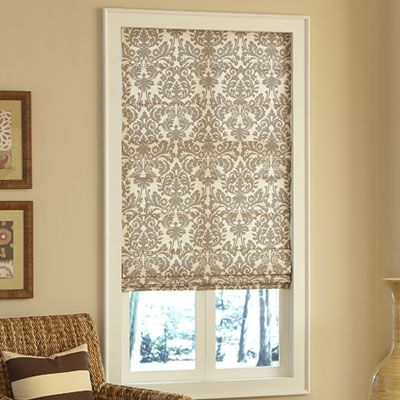 Was thinking something like these for the bedroom in blue.  Then buy brown curtains to go with them. What do you think?