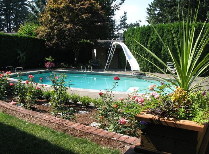 Pool Designs And Landscaping 11 best the best inground pool landscaping ideas images on
