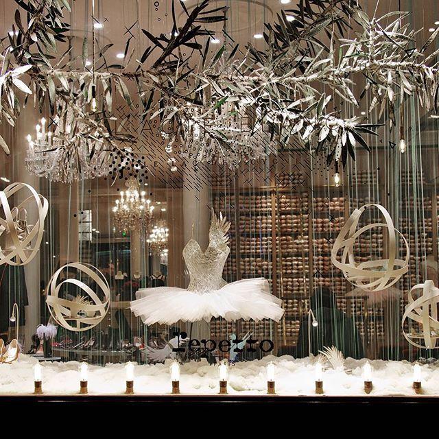 Repetto Christmas Window Show Christmas Window Display