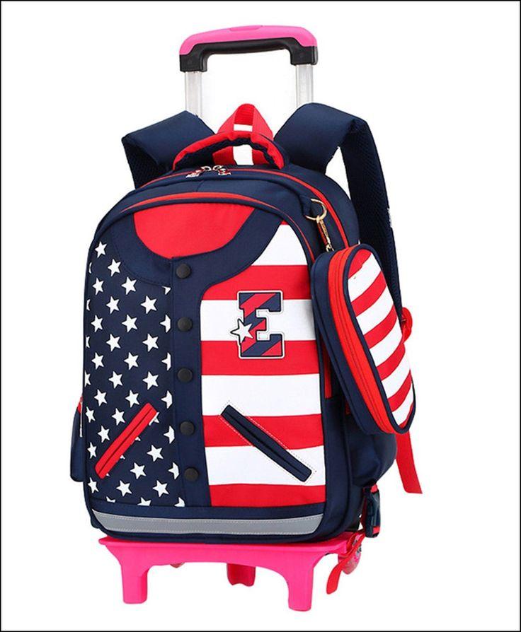 Girls Wheeled Backpacks