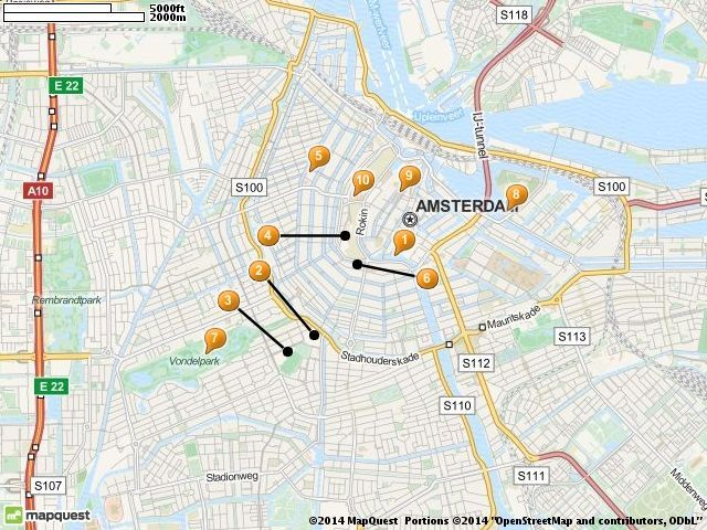 10 Top Tourist Attractions in Amsterdam