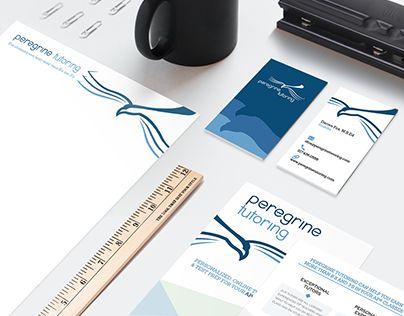 Branding Package for an Online Tutoring Service #customfont #branding #minimalistdesign http://be.net/gallery/41627801/Branding-Package-Online-Tutoring