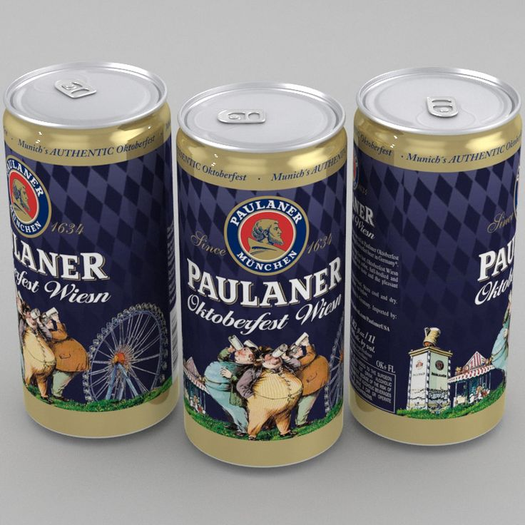 3D Model Of Beer Paulaner Oktoberfest Wiesn - 3D Model