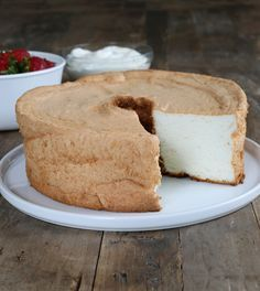 Gluten Free Angel Food Cake, plus how to alter recipe for crepes, etc.