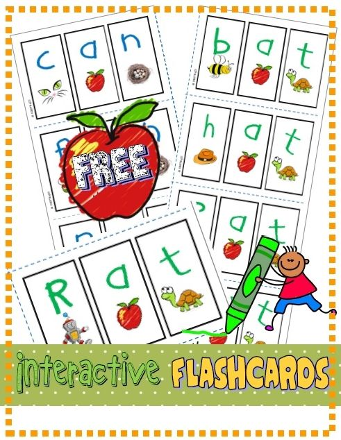 "*FREE* Find the ""Mystery Word"" and practice letter/sound correspondence. (RF.K.2d) (Includes mini flashcards, vocabulary and ""wipe and write"" cards)."