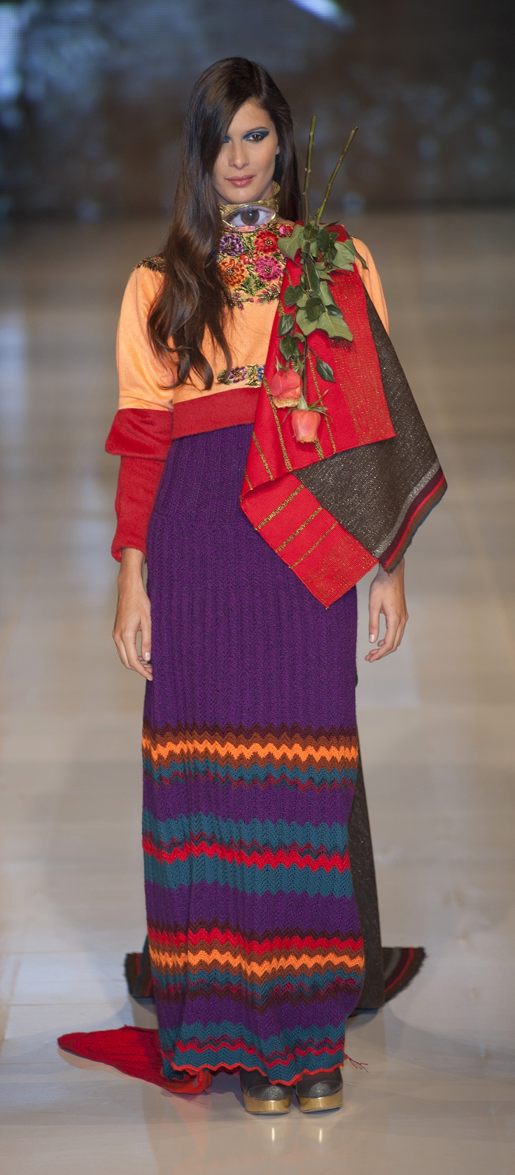 Horus Collection #Runway - Designer: Adriana Santacruz #fashion @Ad_Santacruz