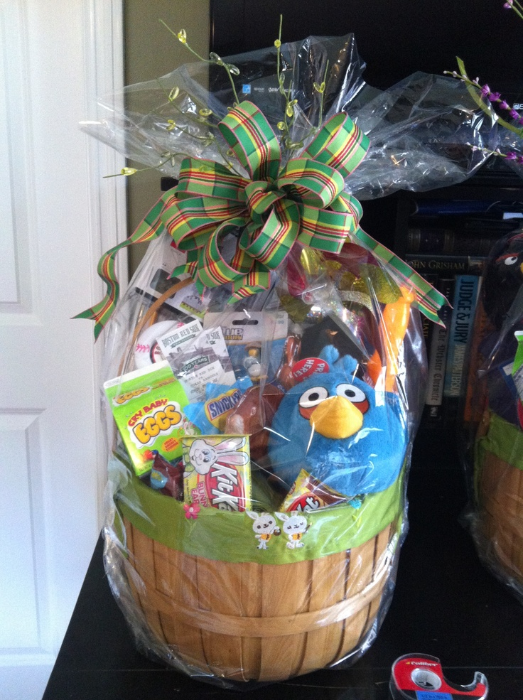 22 Best Images About Easter Baskets For Boys On Pinterest