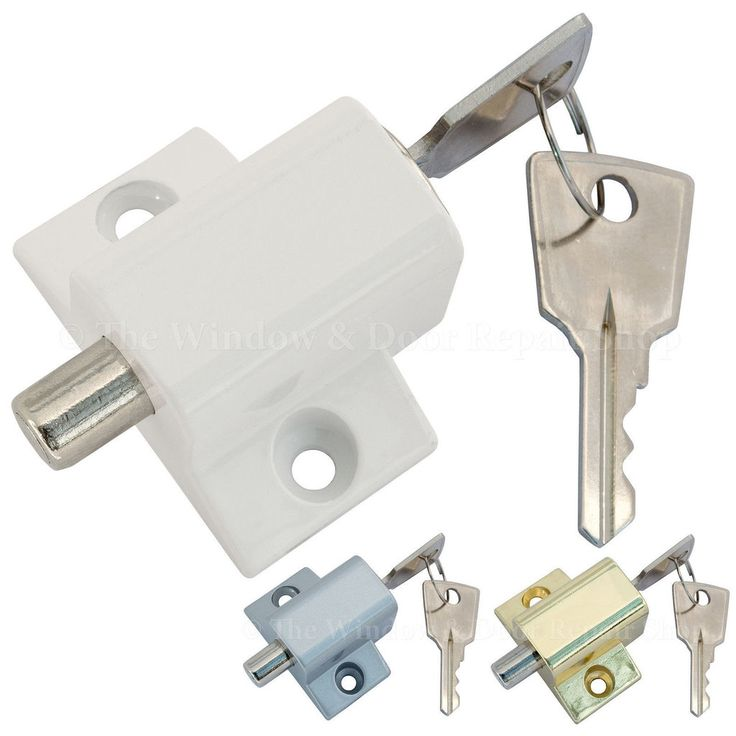 Sliding Glass Door Security Lock With Key