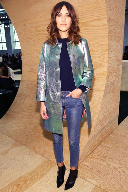 Alexa Chung at Marc By Marc Jacobs… obvs the most stylish of nyfw