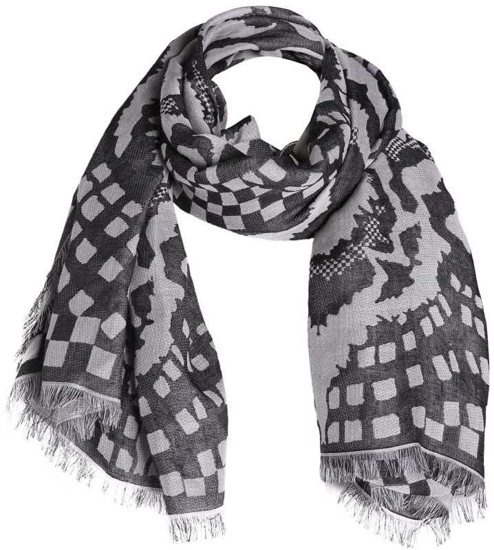 Temperley London Tiger Shell Woven Scarf