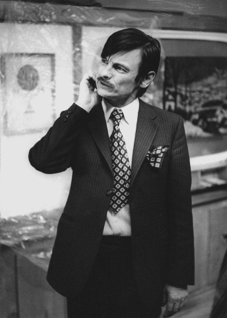 Andrei Tarkovski. A Soviet and Russian film-maker, writer, film editor, film theorist, theatre and opera director.