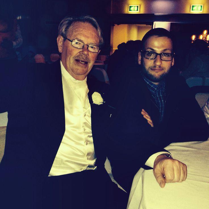 Me and my grandad :)