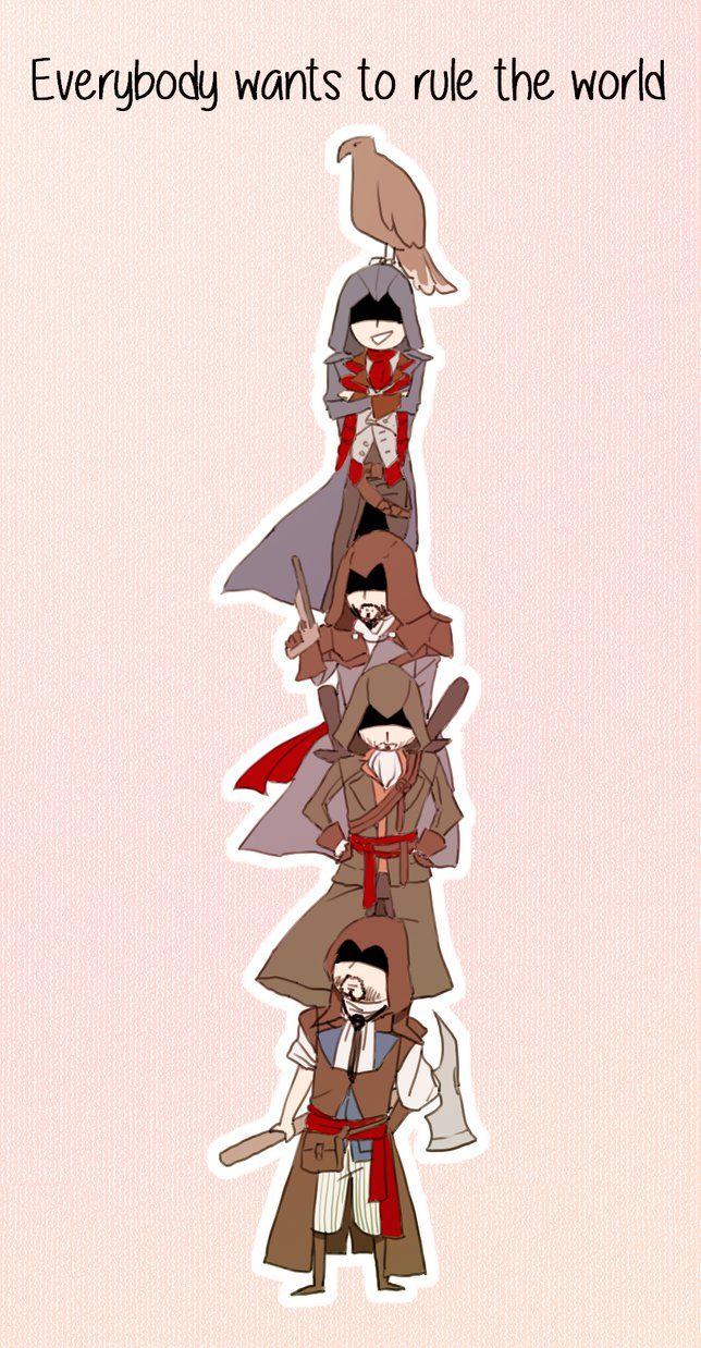 Unity! by Fuugen #AssassinsCreed