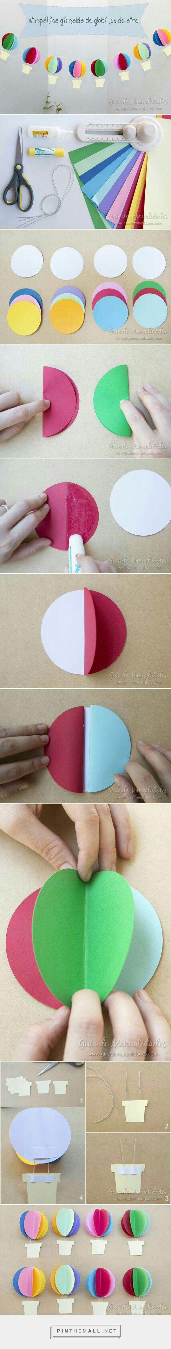 Balon yapımı.