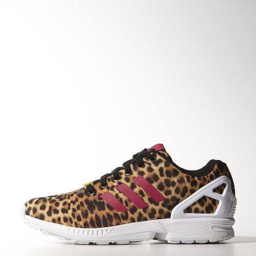 Adidas Originals Women s ZX 8000 Flux Cheetah Leopard Pink Shoes 9 5