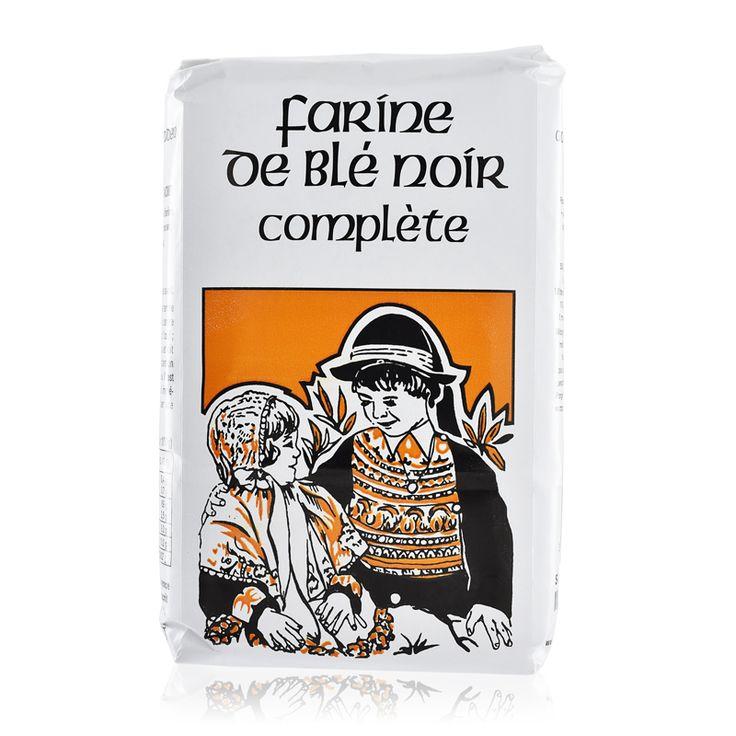 Farine de Blé Noir complète du Moulin de l'Ecluse. Issu d'une production familiale bretonne, utilisant un procédé traditionnel : moulin à eau et meule à l'ancienne. #tresorsdesregions #produitsregionaux #produitsduterroir #recette #farinedeble #tradition #authentique #cuisine #yummy #food #instagood #delicious #tasty #recipe #recipes #produitbreton