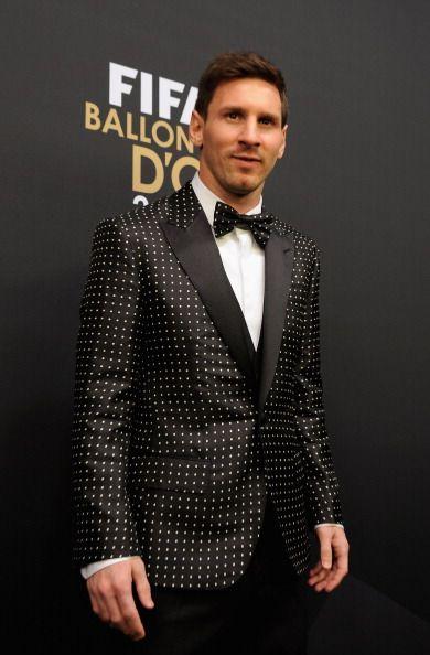 Lionel Messi Suit of FIFA Balon d'or