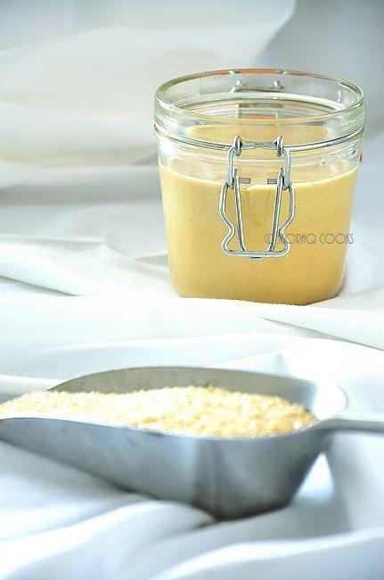 domowa pasta sezamowa Tahini