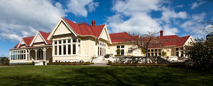 Built in 1889, Pen-y-bryn is one of New Zealand's most beautiful heritage estates