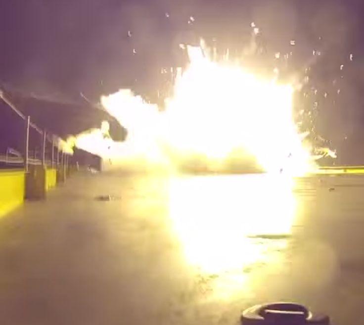 fail falcon 9 rocket explodes like in a michael bay movie http