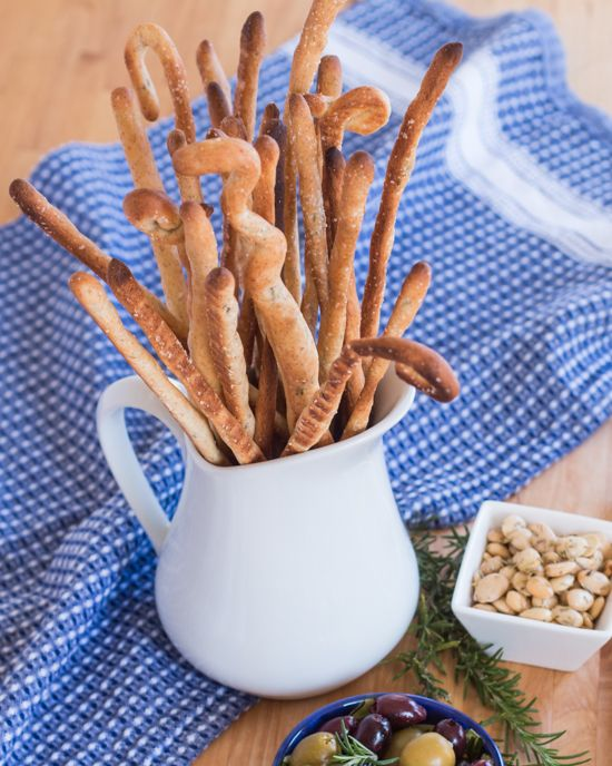 Garlic and Rosemary Grissini Recipe | Flour Arrangements