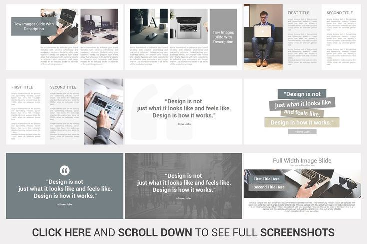 Multi Business Powerpoint Template By Slidesalad On Creativemarket