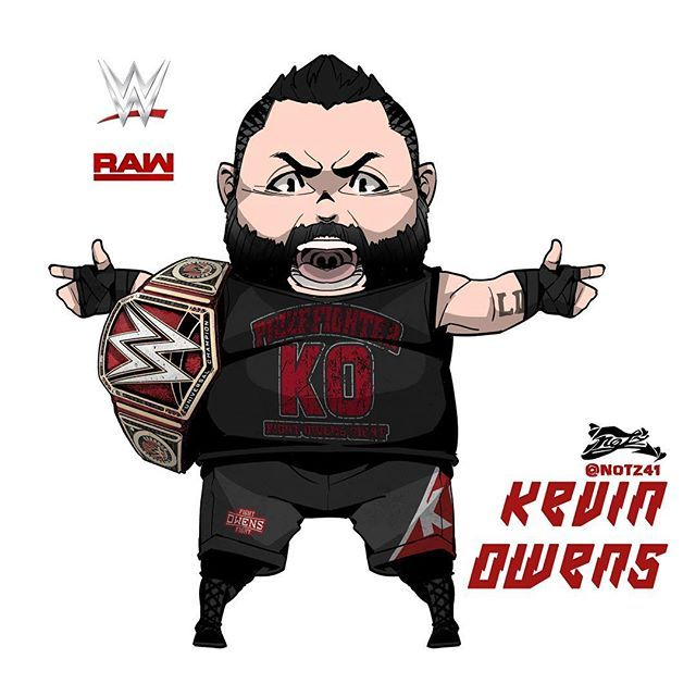 Kevin Owens #wwe