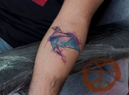 Watercolor Tattoo Artist Koray Karagözler (4)