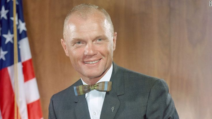 John Glenn, the former astronaut and US senator from Ohio