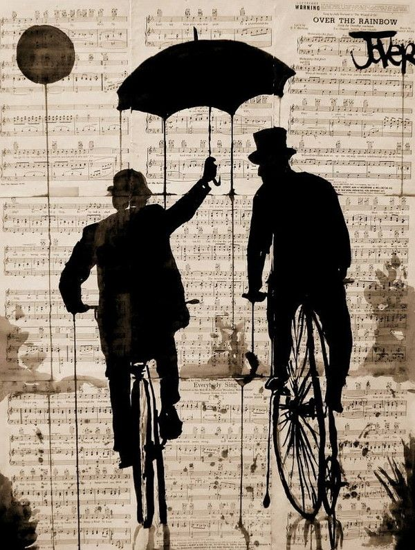 Umbrellas of Jover by Loui Jover