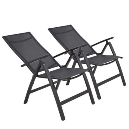 Janeiro Metal Recliner  Pack of 2   B Q for all your home and garden  supplies and advice on all the latest DIY trends. 8 best images about Garden furniture on Pinterest   Wooden dining