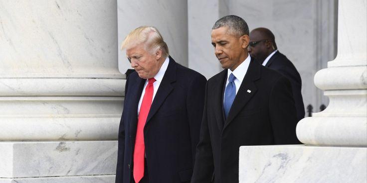 White House cites CNN poll where Obama and Bush outscored Trump - Axios