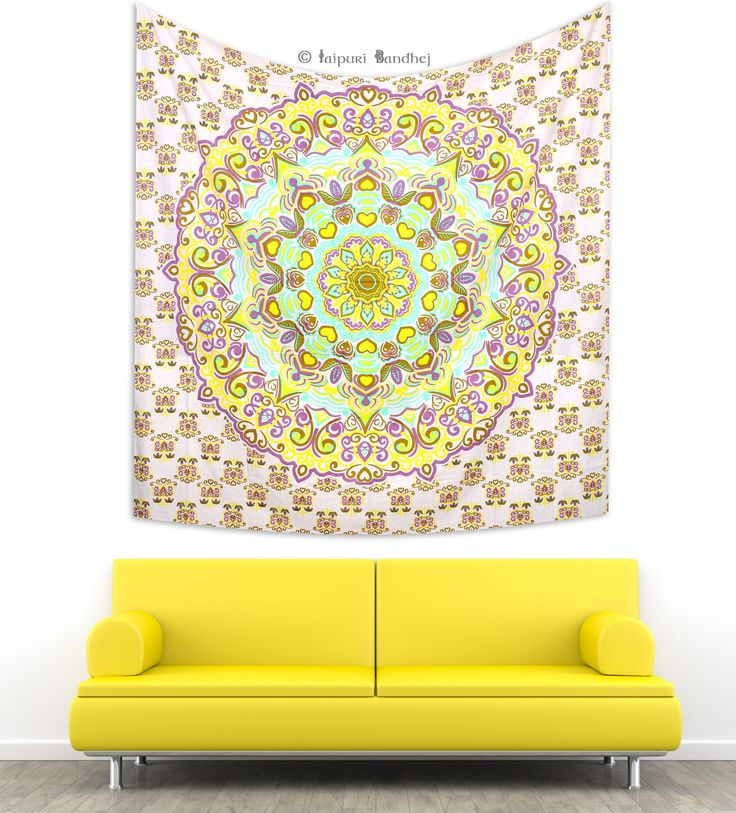 118 best Indian Mandala Bohemian Hippie Hippy Tapestry, Wall Hanging ...