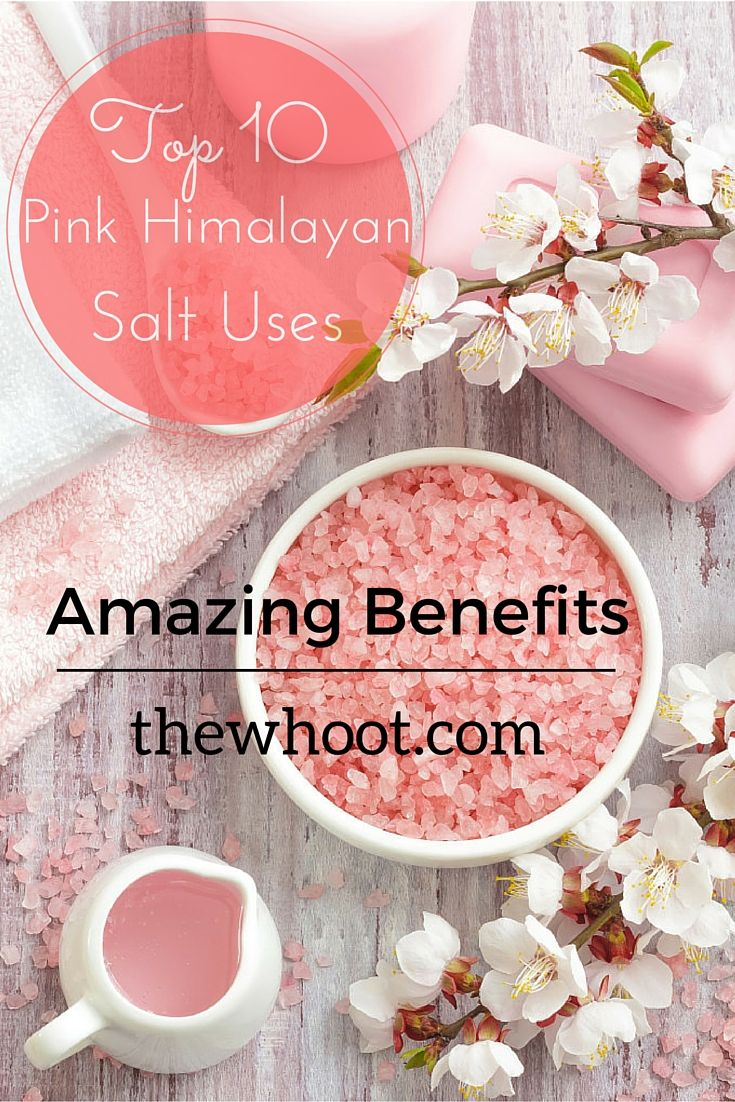 Amazing Benefits if Himalayan Pink Salt: 10 Himalayan Pink Salt Uses + Recipes & Tutorials