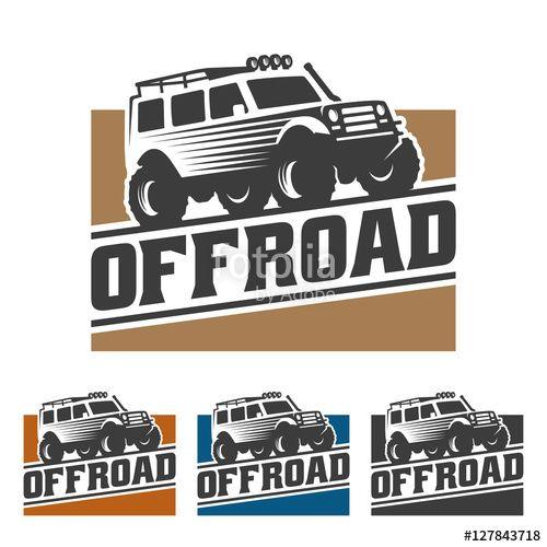 Vector Off Road Car Logo Offroad Logo Suv Car Logo Template Off