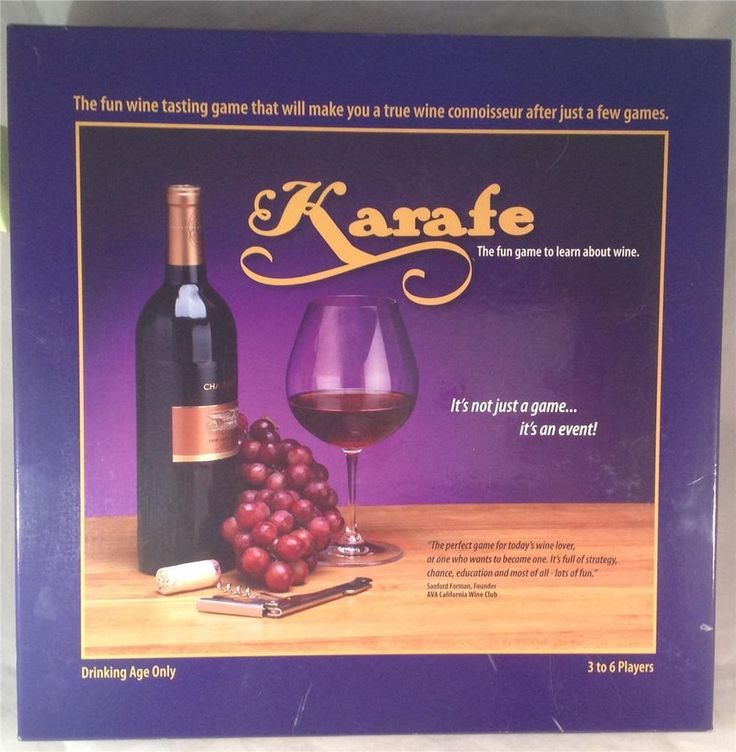 Karafe Wine Drinking Board Game Learning Party Entertainment Adult game #KarafeGames
