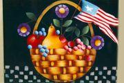 #854 - Fruit Flower Basket