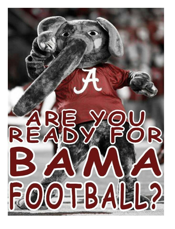 Are you ready for some BAMA Football! Something just so fun about watching Big AL at the games. Roll Tide!  RollTideWarEagle.com for sports stories that inform and entertain. Plus FREE Train Deck football rules online tutorial. Fun and Easy way to learn the rules of the game you love. #Football #Alabama #RollTide
