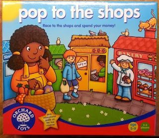 The Brick Castle: Pop To The Shops Game by Orchard Toys Review
