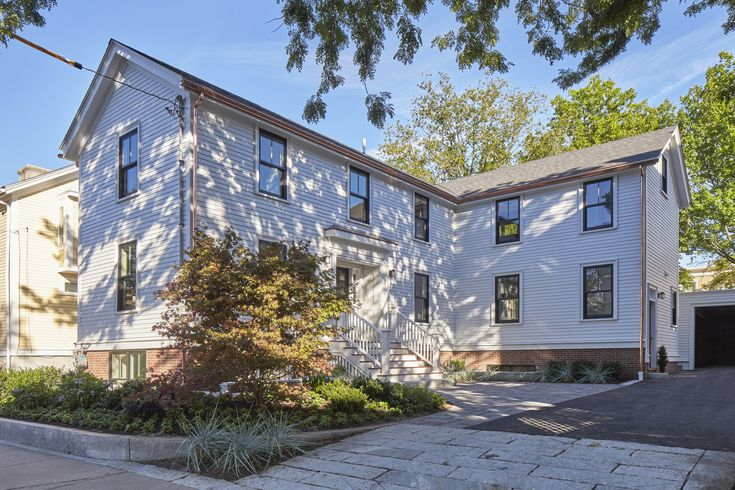 Renovated single family residence at 6 Donnell Street in #CambMA CambridgeRealEstate.com