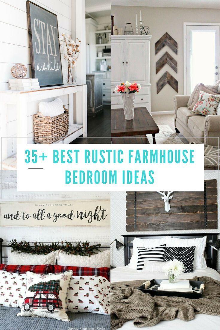 35 creative ways to decorate rustic farmhouse bedroom design rh pinterest com